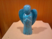 Turquoise Crystal Angel- Big- Approx 1 K.G