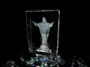 Celebrate Christmas with Jesus Crystal Gift
