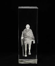 Freedom Fighter Mahatma Gandhi ji in Crystal