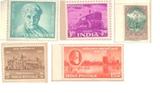 stamps minte indian and used cochin stamps for sale