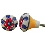 Best Quality Of Knobs &Handles: Ceramic Knobs: Ceramic bulb shaped
