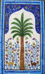 Designer Blue Pottery Murals