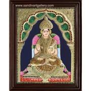Annapoorani Tanjore Painting - Sandiv Art Gallery