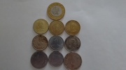 Old British India Coins and Indian commemorative coins