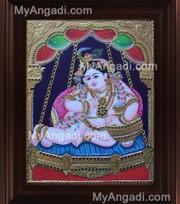Krishna Tanjore Paintings - myangadi.com