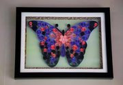 Innovative gifts for home decor Abstract Butterfly art work Aadhi Crea