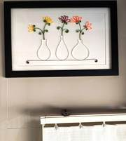 Unique Flower-Port frame for gift to someone special on any Occasion